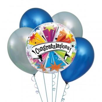 Μπαλόνια Congratulation Foil 18' και Latex 12'