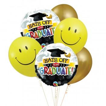 Μπαλόνια Graduate Foil 18' και Latex 12'