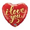 Μπαλόνι Foil I Love You κόκκινο με Ήλιον +8,00€